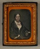 Visualizza Bildnis einer älteren Dame, halbe Figur, mit … anteprime su