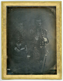 Visualizza Three quarter length portrait of two men in u… anteprime su