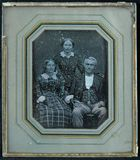 Visualizza Group portrait of three people - possibly a f… anteprime su