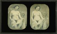 Thumbnail af Weiblicher Akt mit Weintaruben