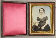 Visualizza Bildnis einer am Tisch sitzenden Frau in eine… anteprime su
