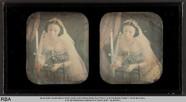 Thumbnail preview of Frau mit Kerze und Gebetbuch
