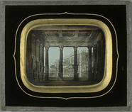 Miniaturansicht Vorschau von Décor de théâtre Sanquirico, toile peinte