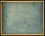Thumbnail af Landscape showing Greek ruins in modern day T…