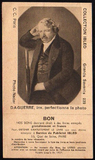 Thumbnail preview of Reproduction of a portrait of Daguerre from a…