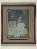 Thumbnail preview of Double portrait of unidentified children