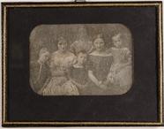 Visualizza Unbekannte Gruppe von sechs Personen anteprime su