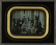 Esikatselunkuvan Portrait de groupe, famille Eynard et amis näyttö