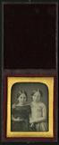 Visualizza Three quarter length frontal double portrait … anteprime su