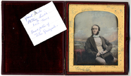 Thumbnail af Portrait of a man, Arthur Lewis, sitting in f…