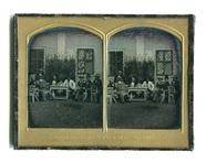 Visualizza Gruppenporträt von acht unbekannten Männern v… anteprime su