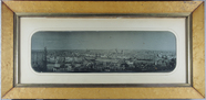 Visualizza Panoramic view of Paris featuring the bridge … anteprime su
