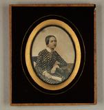 Thumbnail preview of Bildnis einer jungen Frau, Dreiviertelfigur, …