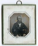 Miniaturansicht Vorschau von Dreiviertelporträt eines unbekannten Mannes m…