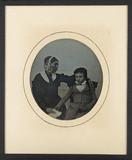 Miniaturansicht Vorschau von Mère et jeune fils assis