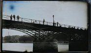 "Visualizza View of the bridge called ""des Art"" in Paris … anteprime su"