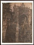 Miniaturansicht Vorschau von Part of the exterior of Rouen Cathedral showi…