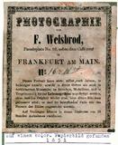 Visualizza Etikett von F. Weisbrod anteprime su