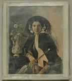 Visualizza Bildnis einer Dame mit Hut und Regenschirm, u… anteprime su