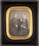 Miniaturansicht Vorschau von Bildnis von zwei Geistlichen, sitzend.