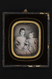 Visualizza Portrait of two girls, sisters ? The elder si… anteprime su