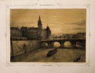 Visualizza Paris daguerréotypé No 18, Le Pont au Change.… anteprime su