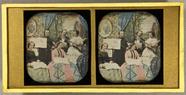 Visualizza Eine Musikergruppe, zwei Männer, drei Frauen,… anteprime su