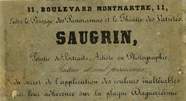 Visualizza photographer label of Mr Saugrin, a Paris, Fr… anteprime su