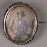 Visualizza Porträt eines Mannes mit Hut. anteprime su