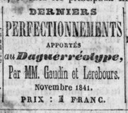 Miniaturansicht Vorschau von Advertisement for publication Derniers Perfec…