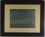 Miniaturansicht Vorschau von Landscape view showing the colonnade of an an…