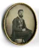 Thumbnail preview of Das Bildnis eines bärtigen Mannes, auf der Rü…