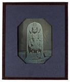 Visualizza statue of the Hindu God Karttikeya seated on … anteprime su