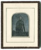 Visualizza Copy of a painting of a standing man in a dar… anteprime su