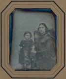 Visualizza Portrait d'une femme et son enfant anteprime su