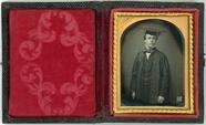 Miniaturansicht Vorschau von Half length portrait of a young man, a schola…