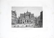 Visualizza Eglise St. Germain l'Auxerrois, Paris. planch… anteprime su