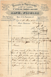 Visualizza Invoice with header of Alphonse Plumier, Lièg… anteprime su