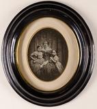 Visualizza Frau van Dycke, geb. Schultz mit ihren drei K… anteprime su