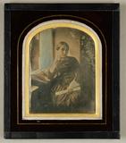 Visualizza Bildnis einer jungen Frau, Dreiviertelfigur, … anteprime su