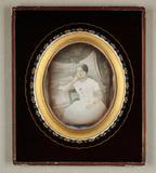 Visualizza Bildnis einer jungen Dame in weißem Kleid, Dr… anteprime su