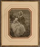 Visualizza Frau Cornelie Emilie Schlüter mit ihrem Sohn … anteprime su