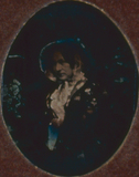 Visualizza Porträt einer unbekannten Dame mit Hut anteprime su