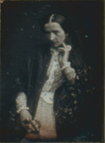 Miniaturansicht Vorschau von Porträt einer unbekannten jungen Dame mit Blu…
