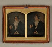 Visualizza Damenporträt, um 1850. Kloriert anteprime su