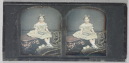Visualizza A full length seated portrait of a young girl… anteprime su