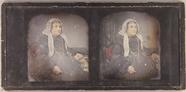 Visualizza Stereodaguerreotypie einer älteren Frau im St… anteprime su