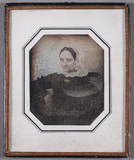 Thumbnail preview of Portrait of unknown woman, tinted.