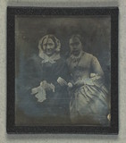 Thumbnail preview of Double portrait of unidentified women