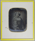 Visualizza Three quarter view of an Indian prince, plump… anteprime su